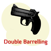 Double Barrelling