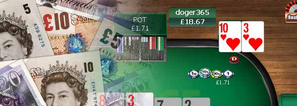 Play Online Poker In Pounds | \u00a3 GBP Poker Sites