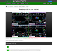 HigherLevelPoker.com Homepage Screenshot Thumbnail