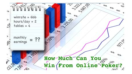 How Much Money Can You Win From Online Poker?