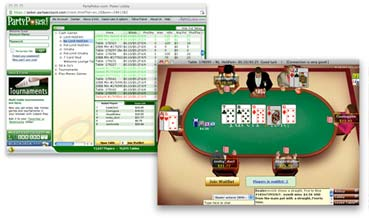 Party Poker Java Screenshot