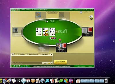 Party Poker Software Features