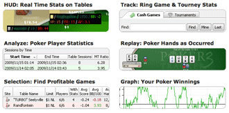 Poker Tracker 3 Features