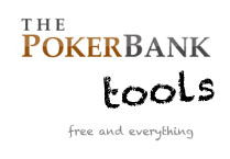 PokerBank Tools