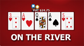 Poker terms the river