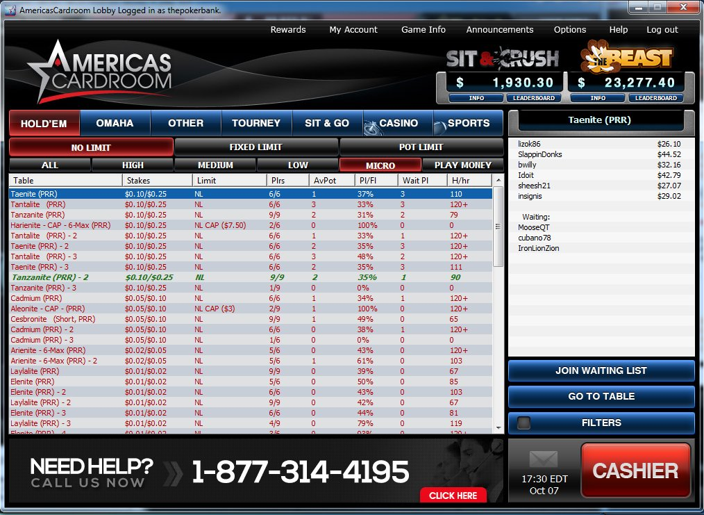 Poker sites for us players reviews