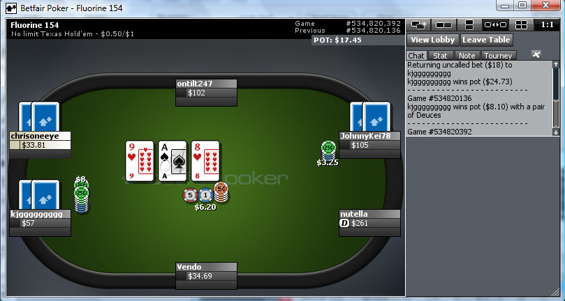 Pokerstars eu real money android