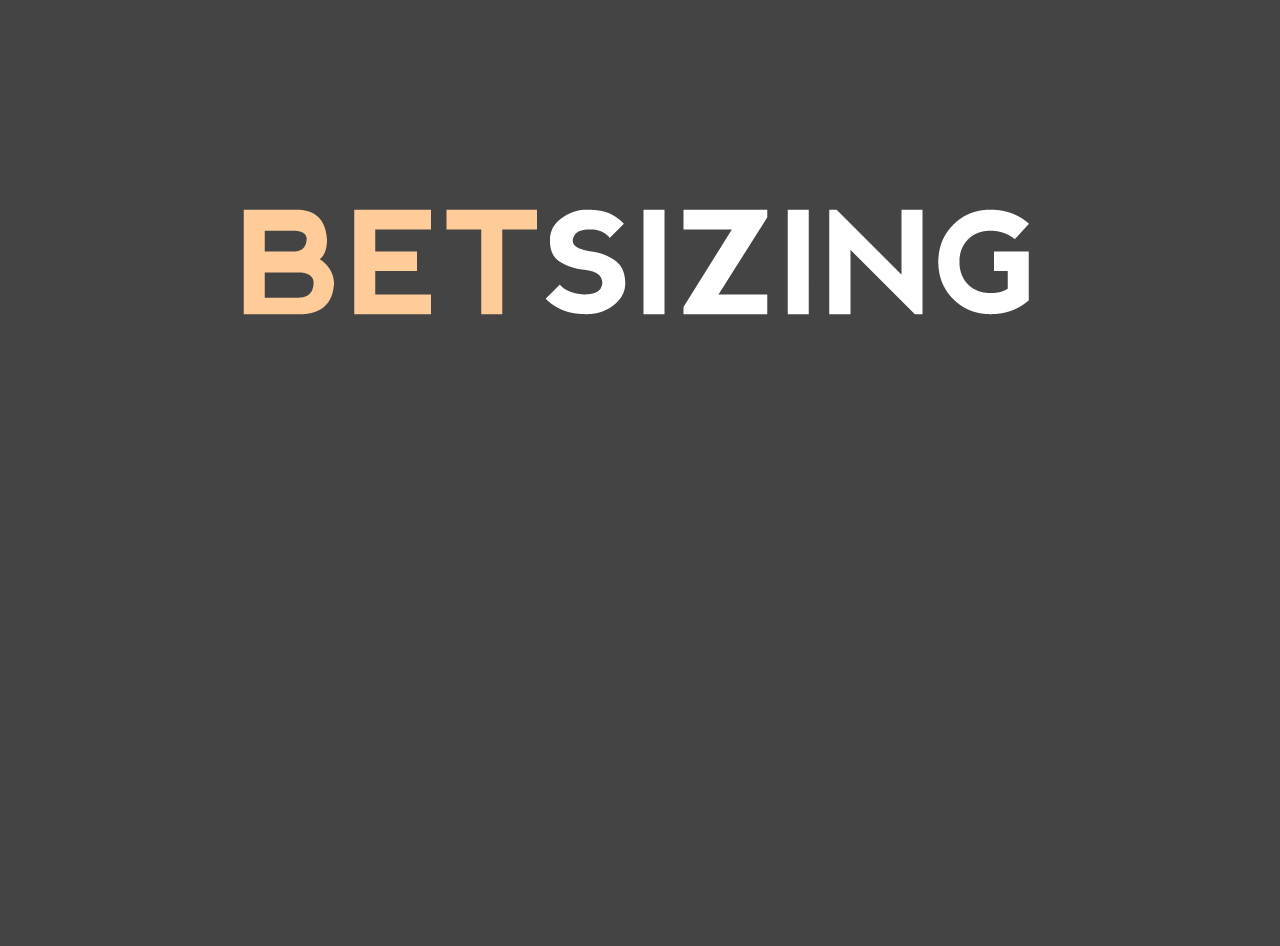 betting sizing a ring