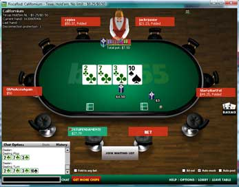 Bet365 Table Screenshot